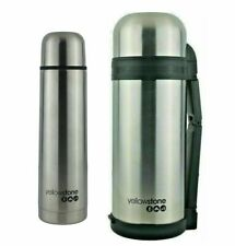 STAINLESS STEEL VACUUM THERMOS FLASK 1.0L / 1.5L INSULATED THERMOS FLASK
