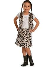 M & F Western Girls' Cowprint Cowgirl Vest And Skirt Set - 5083462BLK