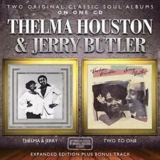 Thelma & Jerry/two to One - Houston,Thelma & Jerry Butler New & Sealed CD-JEWEL