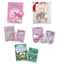 Sanrio My Melody Passport cover Hello Kitty I D Holder Travel Little Twin Stars