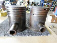 John Deere Unstyled A Tractor .045 Oversized Piston Set A1893r As Shown