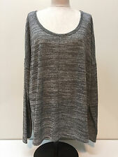 Old Navy Women Rayon Blend Long Sleeve Marbled Long Sleeve Top Size XXL XL New