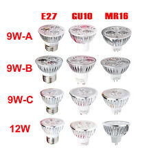 Epistar Ultra Bright 9W 12W MR16 GU10 E27 Dimmable LED Spot Downlight Lamp Bulb