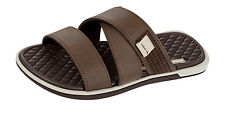 Rider Valencia Slide AD FF Mens Flip Flops / Sandals - Brown - 81868