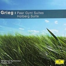 Grieg: Peer Gynt Suites/holberg Suite - Grieg,E. New & Sealed CD-JEWEL CASE Free