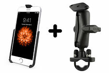 RAM Mount iPhone 6S Motorcycle Handlebar Bicycle Rail U-Bolt mount kit
