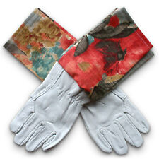NEW Washable leather gardening gloves in Watercolour Odyssey by Homegrown & Hand