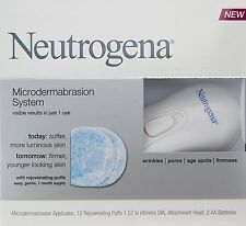 Neutrogena Microdermabrasion System With 12 Rejuvenating Puffs (USA IMPORT)
