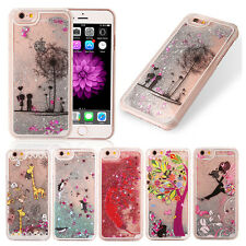 Case Cover For Apple iPhone 6 6S & Plus 5s SE Luxury Glitter Sand Star Quicksand
