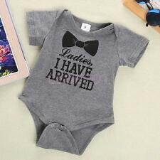 Newborn Baby Unisex Playsuits Romper Clothing Bodysuits Sleepwear One-Piece