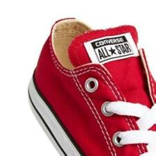 Converse Chuck Taylor Star Ox Red White Infant Toddler Boy Girl Shoes Size 2-10