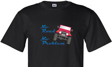 "Toyota FJ40 ""No Road No Problem"" Design Bk T Shirt Many Sizes & Design Colors"