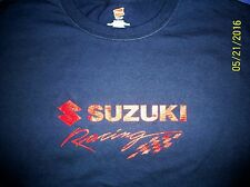 Suzuki Racing Screen Printed T-Shirt 6 oz.100% Cotton Sm-5XL