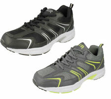 MENS AIR TECH GRAVITY LACE UP GYM SPORTS TRAINERS CASUAL EVERYDAY WEAR