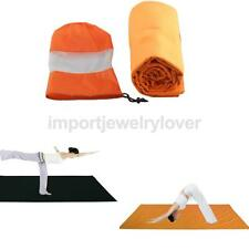 Non-Slid Sport Travel Gym Training Yoga Mat Cover Towel Blanket Pilates