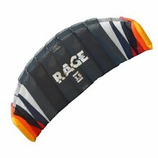 Flexifoil 1.8m2/2.5m2/3.5m2/4.7m2 4-Line Rage Power Kite + FREE £79.99 Big Buzz