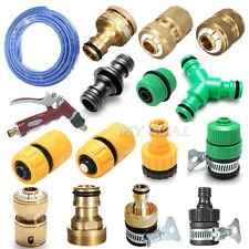 Garden Water Hose Pipe Tap Connector Accessories Tubing Fittings Water Plumbing