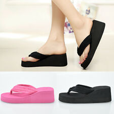 2016 Fashion Women Shoes Summer Sandals Wedge Platform FlipFlops Casual Slippers