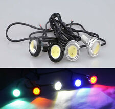 2PCS 23mm 9W Car Auto Eagle Eye LED DRL Daytime Running Parking Lamp Light Bulb
