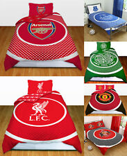 Football Official Reversible Single Double  Duvet Cover Bedding Sets FC Designs