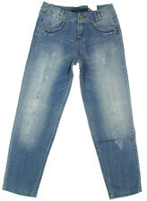 """ONLY """"Lisa Boyfriend Stretch"""" womens tappered jeans pants vintage (sky blue) NEW"""