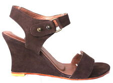 Women shoes sandal wedges suede leather fashion summer Garvin Aus size 2 to 10.5