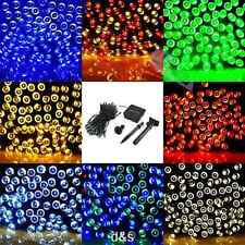 Outdoor Xmas 12M Solar Power String Fairy Light 20 LEDs Lamp Wedding Party Decor