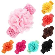 Kids Girls Baby Toddler Infant Flower Headband Hair Band Hair Accessories
