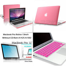 Advanced Matte Hard Case Cover Keyboard Film 3 in 1 For Apple Mac Pro Retina 13""