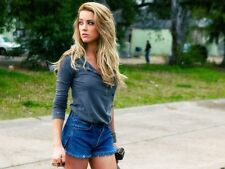 Famous Star Amber Heard Sexy Model Wall Print POSTER