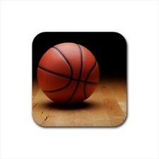Basketball Bottle Opener Keychain and Beer Drink Coaster Set