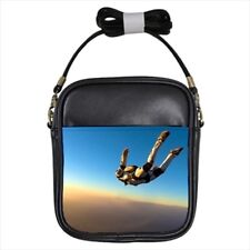 Sky Diving Leather Sling Bag (Crossbody Shoulder) & Women's Handbag