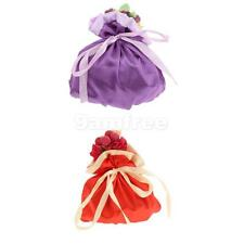 Wedding Bridal Shower Satin Jewelry Gift Bags Candy Gift Pouches Party favor