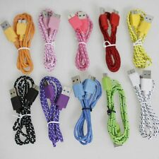 New Braided Micro USB 3.0 Data Sync & Charger Cable For SAMSUNG GALAXY S5 NOTE 3