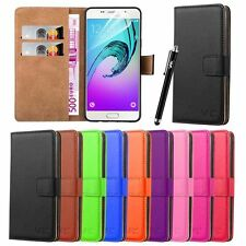 Flip Wallet Book Leather Case Cover For Various Samsung Galaxy Mobile Phones