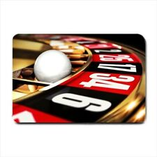 Roulette Gambling Casino Neoprene Non-Slip Doormat - Indoor and Outdoor Use