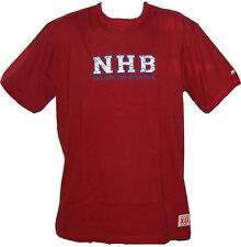 RAGS NHB RED  T SHIRT FIGHT BJJ  MMA VALE TUDO SIZES S-XL