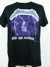 T-Shirt Heavy Metal Rock Band Music Metallica Ride the Lightning Screen New