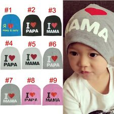 New Boy Girl Toddler Infant Children Cotton Soft Cute Hat Cap Hats Baby Beanies