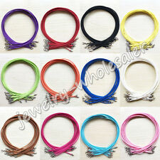 Wholesale Colorful Suede Leather String Necklace Cord Jewelry Making 47cm DIY