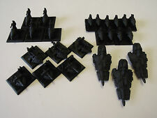 WARHAMMER EPIC 40K ELDAR SUPPORT UNITS BASED IN CHAOS BLACK