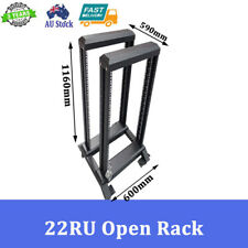 "22RU 19"" 19 INCH OPEN RACK DATA RACK SERVER CABINET"