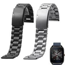New Stainless Steel Quick Release Watch Band Strap for ASUS ZenWatch 2 WI501Q