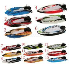 Creative Inflatable Wind Up Speedboat Toy Loot/Party Bag Kids Children GIFTS
