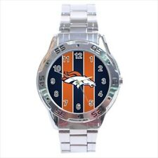 Denver Broncos Stainless Steel Watches - NFL Football