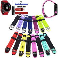 Replace Silicone Watch Band Bracelet For Garmin Forerunner 235 630 230 GPS Watch