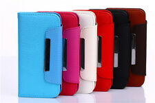 For iPhone 6/6 Plus PU Leather Credit Card Holder Wallet Flip Case Phone Cover