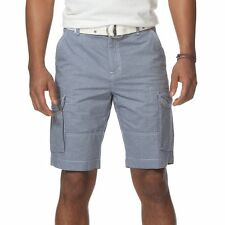 New Mens CHAPS by Ralph Lauren Big&Tall Striped Cargo Shorts Size 44-50 MSRP $72