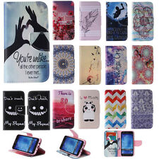 Cell Phone Case for Samsung Galaxy Apple iPhone PU Leather Stand Wallet Cover