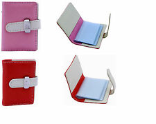 Business Name Credit ID Card Holder-PU Leather Card Holder Wallet Case For Women